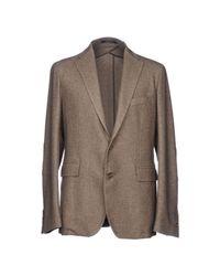 Tagliatore - Gray Blazer for Men - Lyst