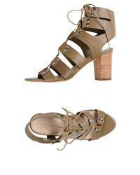 Loeffler Randall Green Sandals
