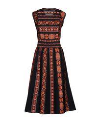 M Missoni Black Knee-length Dress