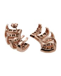Ca&Lou - Metallic Earrings - Lyst