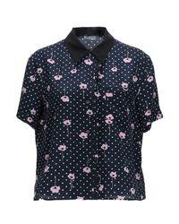 Miu Miu Blue Shirt