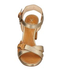 Fabi Metallic Sandals