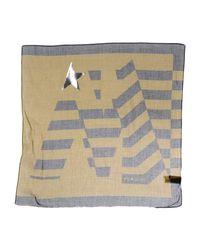 Golden Goose Deluxe Brand - Green Square Scarf for Men - Lyst