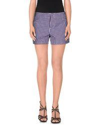 Aspesi - Purple Shorts - Lyst