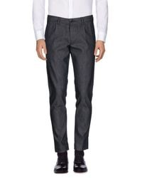 Tonello - Black Casual Pants for Men - Lyst