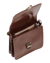GIADA PELLE - Brown Cross-body Bag - Lyst