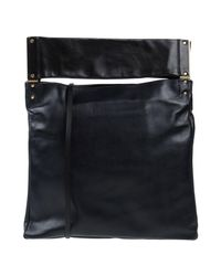 Lanvin - Black Cross-body Bag - Lyst