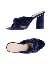 Loeffler Randall Blue Sandals