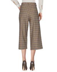 Souvenir Clubbing - Natural 3/4-length Trousers - Lyst
