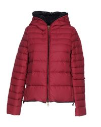 Duvetica - Red Down Jacket - Lyst