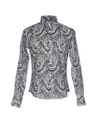 Billionaire - Black Shirt for Men - Lyst