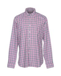 Etro - Red Shirt for Men - Lyst