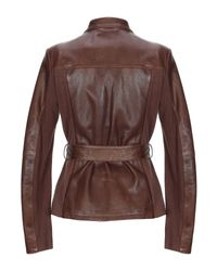 Peuterey - Brown Jacket - Lyst