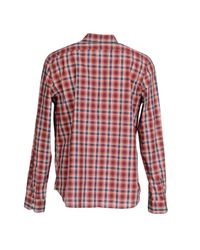 Napapijri - Red Shirt for Men - Lyst