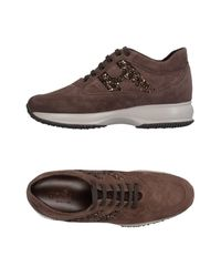 Hogan - Brown Low-tops & Sneakers - Lyst