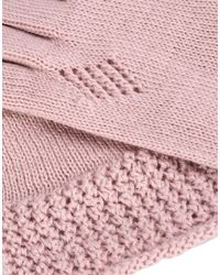 Jolie By Edward Spiers - Pink Gloves - Lyst