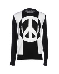 Love Moschino - Black Jumper for Men - Lyst