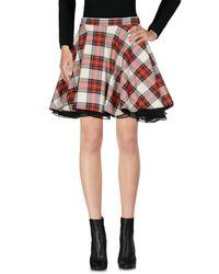 Ultrachic - Red Mini Skirts - Lyst