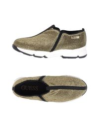Guess - Green Low-tops & Sneakers - Lyst