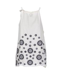 Twin Set - White Top - Lyst
