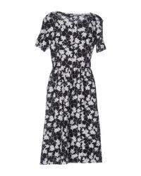 YMC - Black Short Dress - Lyst