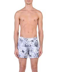 Jil Sander - Gray Swimming Trunks for Men - Lyst