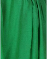 Paule Ka - Green Knee Length Skirt - Lyst