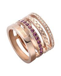 Just Cavalli - Multicolor Ring - Lyst