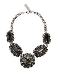 Philipp Plein - Gray Necklaces - Lyst