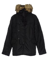 Denim & Supply Ralph Lauren - Black Down Jacket for Men - Lyst