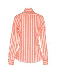 Aglini - Pink Shirts - Lyst