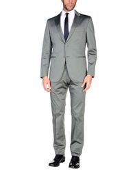 Burberry - Gray Suit for Men - Lyst