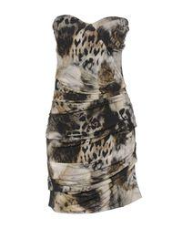 Guess | Green Short Dress | Lyst