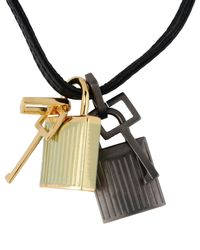 Tom Ford - Black Necklace - Lyst