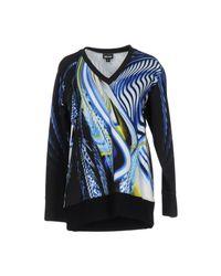 Just Cavalli - Blue Sweatshirts - Lyst