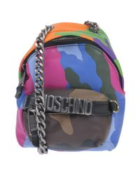 Moschino - Blue Cross-body Bag - Lyst