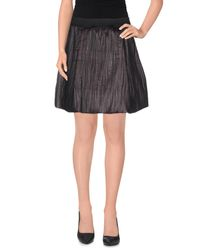 Jijil - Gray Mini Skirts - Lyst