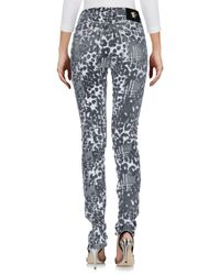 Versace - Multicolor Denim Pants - Lyst
