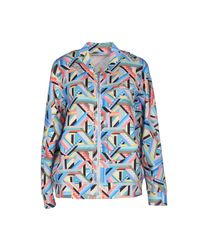 Haus By Golden Goose Deluxe Brand Blue Jacket