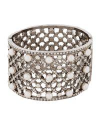 Oscar de la Renta - Metallic Bracelets - Lyst