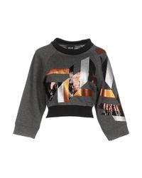 Just Cavalli - Gray Sweatshirt - Lyst