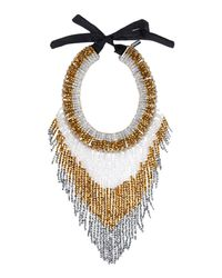 NIGHTMARKET.IT - Metallic Necklace - Lyst