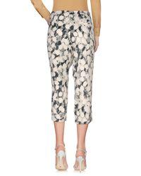 Manila Grace - White 3/4-length Trousers - Lyst