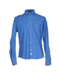 Smythson | Blue Shirt for Men | Lyst