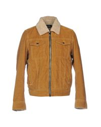 DIESEL - Brown Jacket for Men - Lyst