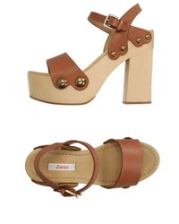 Jucca - Brown Sandals - Lyst