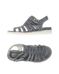 Keb - Gray Sandals - Lyst