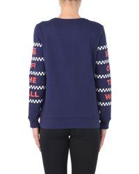 Vans - Blue Sweatshirt - Lyst