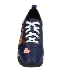 Love Moschino - Blue Low-tops & Sneakers - Lyst