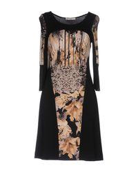 Sonia Fortuna - Black Short Dress - Lyst